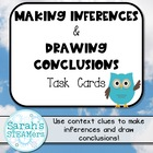 Reading Task Cards (Second Grade): Making Inferences & Dra
