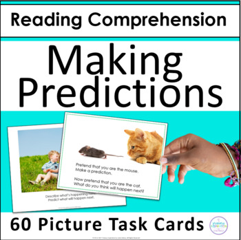 https://www.teacherspayteachers.com/Product/Making-Predictions-Task-Cards-for-Evidence-and-Prior-Knowledge-1477422