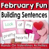 Building Sentences: Valentines Day