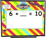 Making Ten SMART BOARD Game