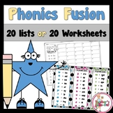 Making Words with Word Lists -CCSS