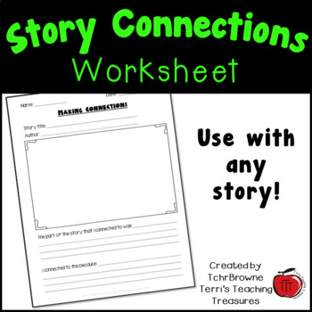 Making connections to stories