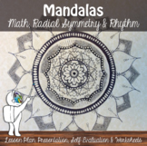Mandala Lesson - Art Lesson - Repetition, Pattern, Variety