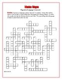 Maniac Magee: Figurative Language Crossword--Creative!