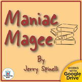 Maniac Magee Teaching Novel Unit CD~ Common Core Standards
