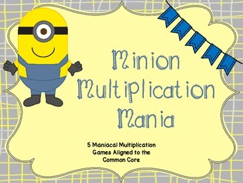 Multiplication Review Games - 5 Complete Games for Masteri