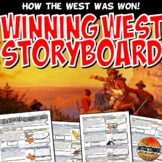 Manifest Destiny Storyboard Stations or PwerPoint Graphic