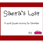 Map Grid Activity Santa's Lost Freebie