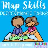 Map Skills Performance Tasks - Create a Map