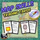 Map Skills Trading Cards