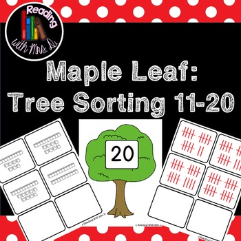 Maple Leaf: Tree Sorting Mats 11-20