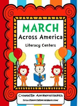 Dr. Seuss March Across America....Literacy Centers