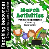 March Activities from Teaching Resources