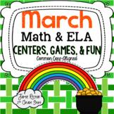 March Math & ELA Centers, Games, & Fun! {12 Activities Ali