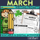 March Mega-Writing Packet {Task Card Prompts, Posters, & W