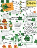 March Shamrock Common Core Literacy & Math Activities Unit