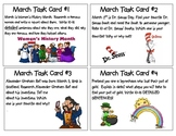 March Task Cards