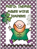 March Themed ... Let's Make Word Templates