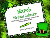 March Writing Calendar