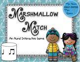 Marshmallow Match Aural Interactive Game: Ta Ti-Ti