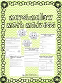 Marshmallow Math Madness