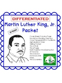 Martin Luther King, Jr. Day Activities Packet UPDATED