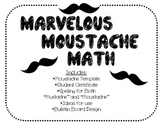 Marvelous Moustache {Mustache} Math {math motivation and b