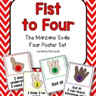 Marzano Scale (Fist to Four) Student Feedback Posters and