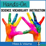 Mass and Volume Vocabulary Lesson