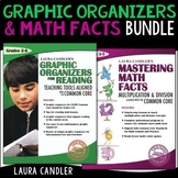 Mastering Math Facts / Graphic Organizers for Reading Ebook Combo