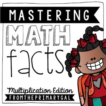 Mastering Math Facts {Multiplication Edition}