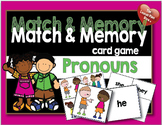 Match and Memory Card Game - Pronouns