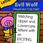 Evil Fox Game-Matching Capital & Lowercase Letters (Played