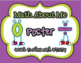 *Math About Me* Poster {Back to School Activity}