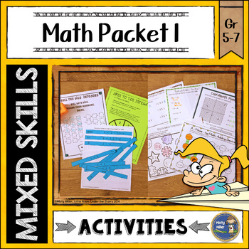 Math Activities Packet 1