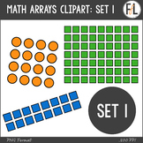 Math Arrays {Clipart Collection}