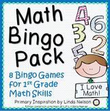 First Grade Math ~ Math Bingo Pack