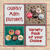 Math Button Custom Set of 30