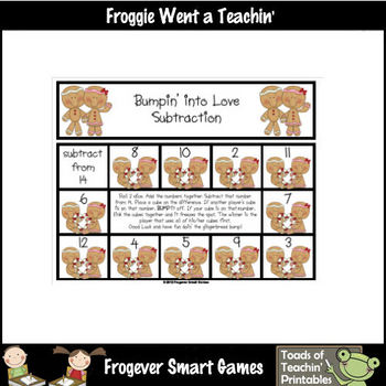 Math Center -- Bumpin' into Love Revised File (gameboard for 14)