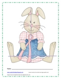 Math Center: Bunny Measuring