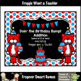 Math Center--Doin the Birthday Bump (Addition with sums of