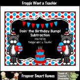 Math Center--Doin' the Birthday Bump! (Subtraction)
