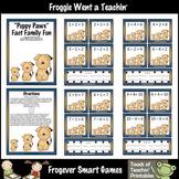 Math Center -- Puppy Paws (fact families)