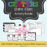 Box Plot Math Centers Activity Bundle