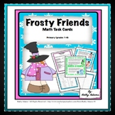 Math Center: Winter Facts Frosty Friends