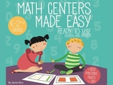 Math Centers Made Easy. DELUXE EDITION Printable and DVD E