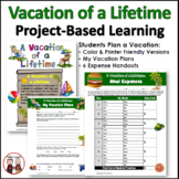 End of Year Math Vacation Lesson Plan Unit