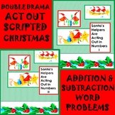 Math Double Drama Addition and Subtraction Word Problems t