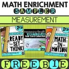 Math Enrichment Sampler (FREEBIE)