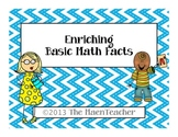 Math Fact Enrichment Flashcards for Advanced Learners